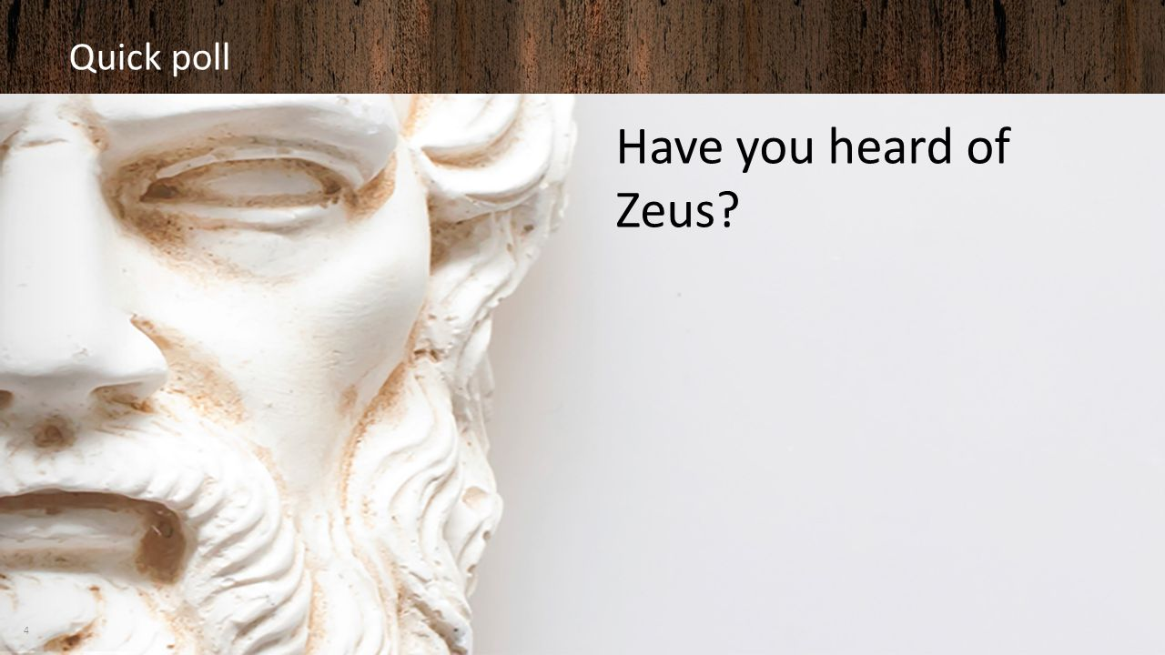 Quick poll Have you heard of Zeus