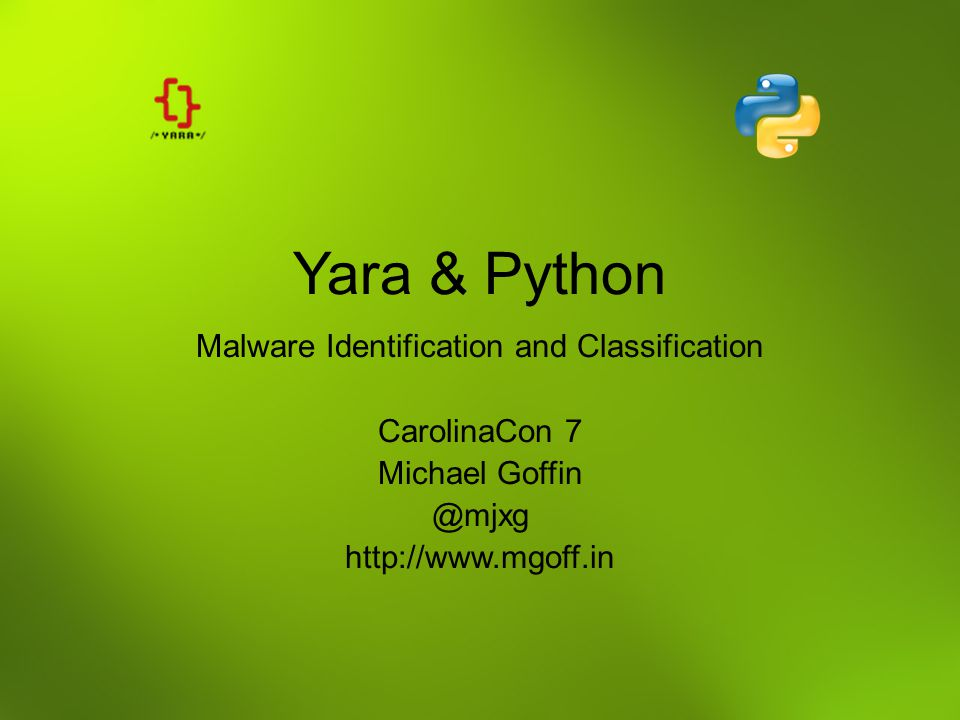 Malware Identification and Classification