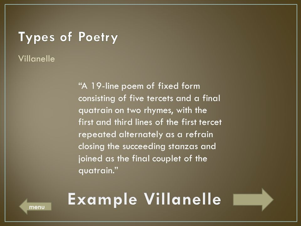 poetry 101 �poetry is when an emotion has found its
