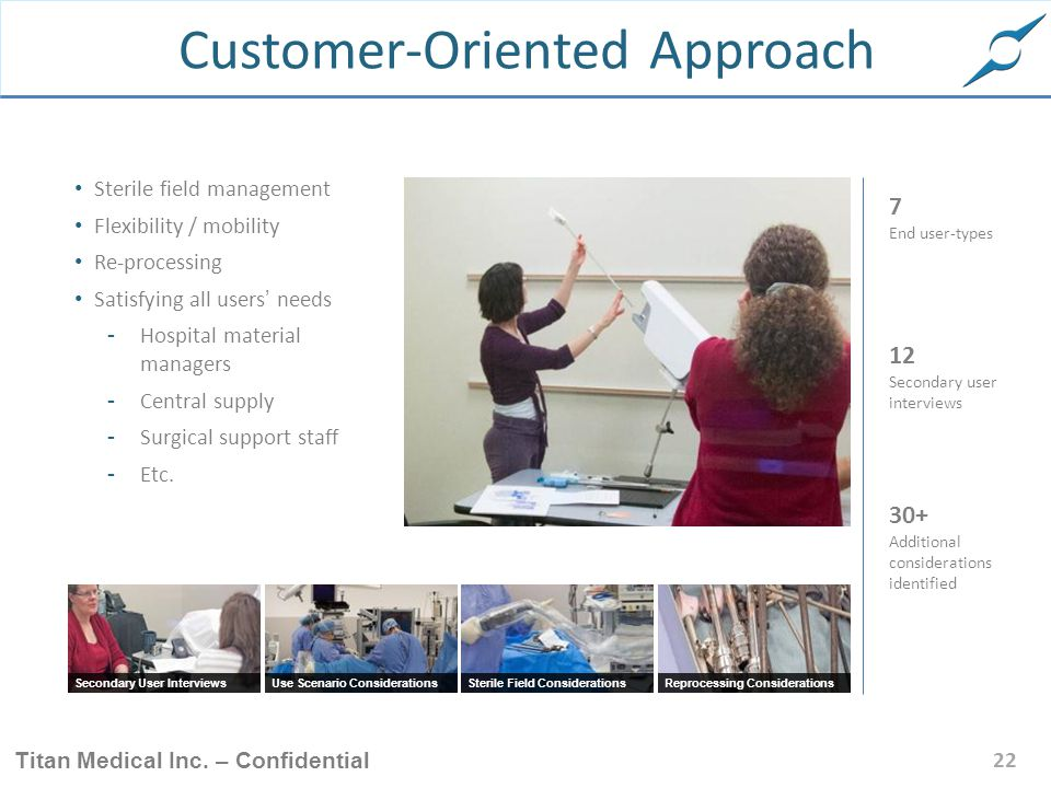 Customer-Oriented Approach