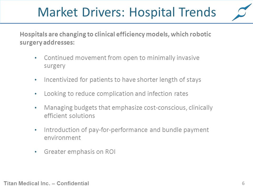Market Drivers: Hospital Trends