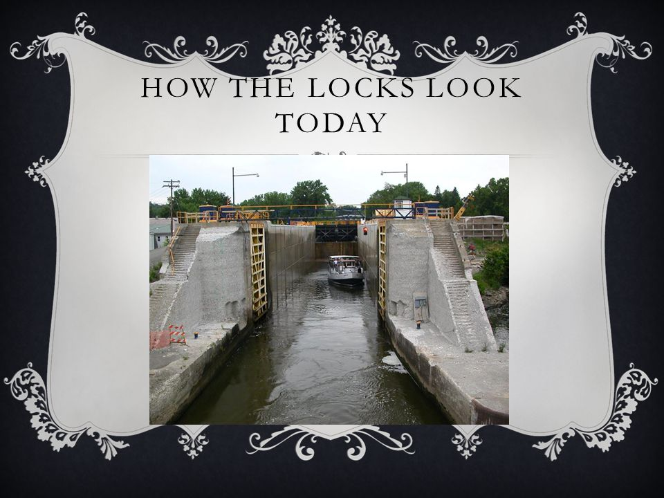 How the Locks look today