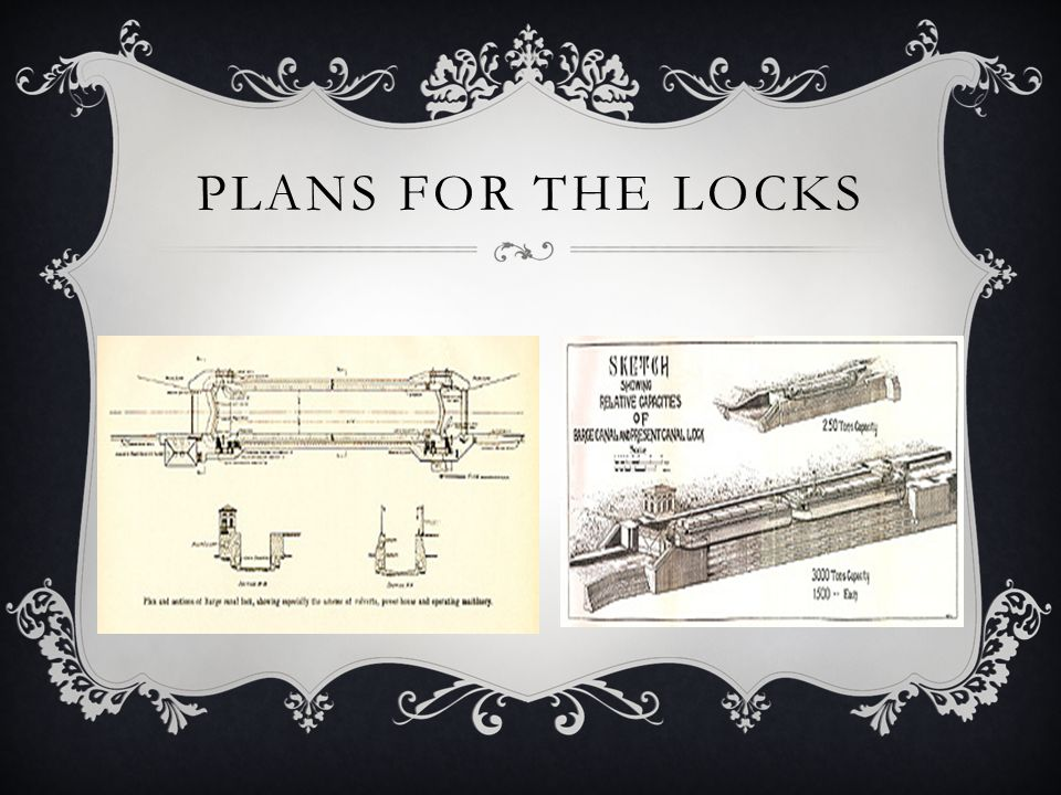 Plans for the Locks