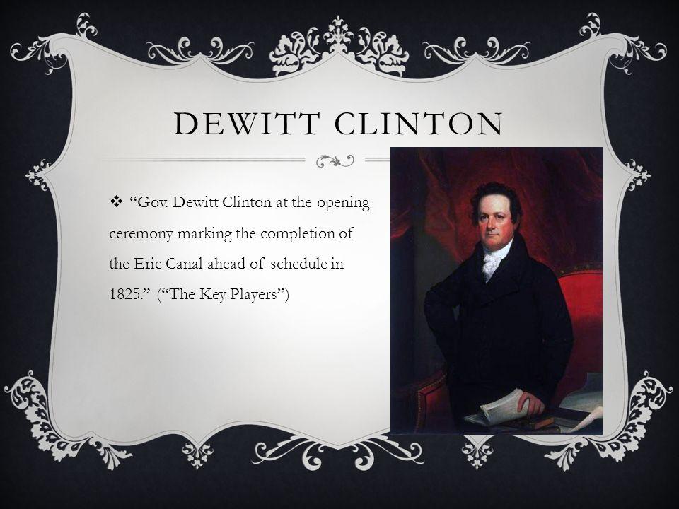 Dewitt Clinton Gov.
