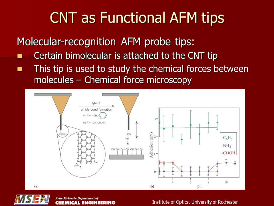 CNT as Functional AFM tips