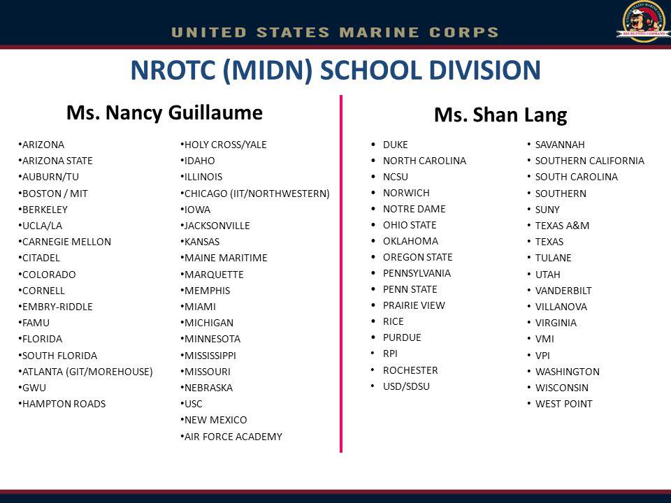 NROTC (MIDN) SCHOOL DIVISION
