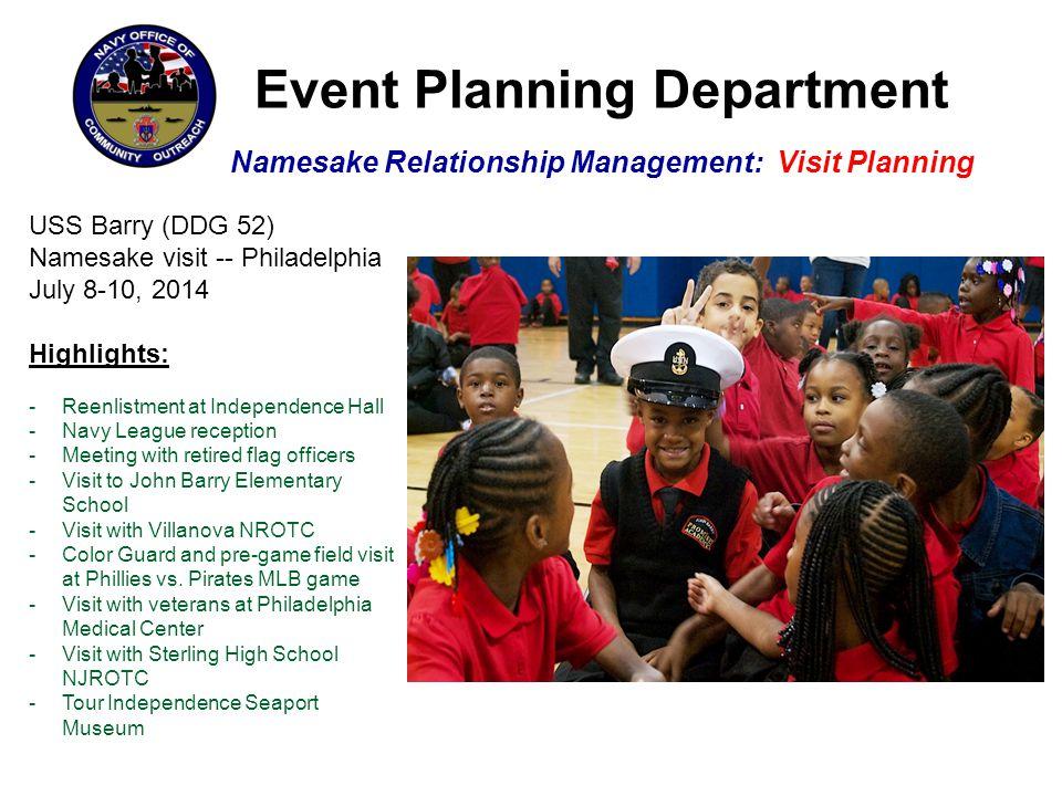 Executive Outreach Department