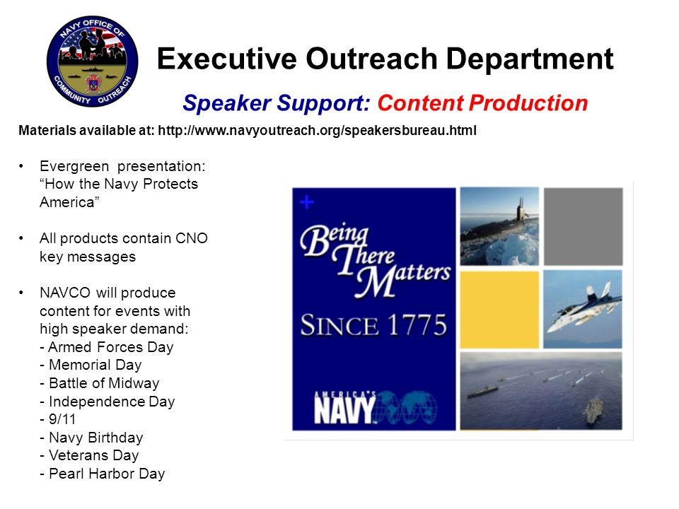 Executive Outreach Department Speaker Support: Content Production