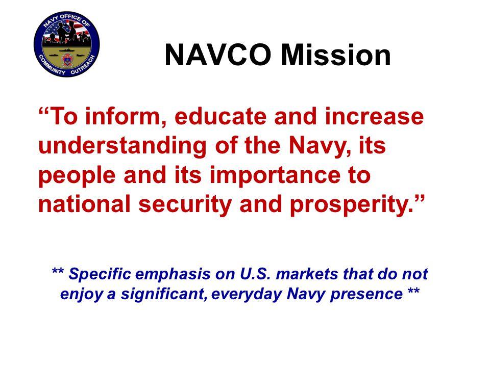 The Navy's Awareness Challenge