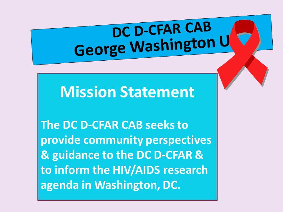 George Washington U Mission Statement