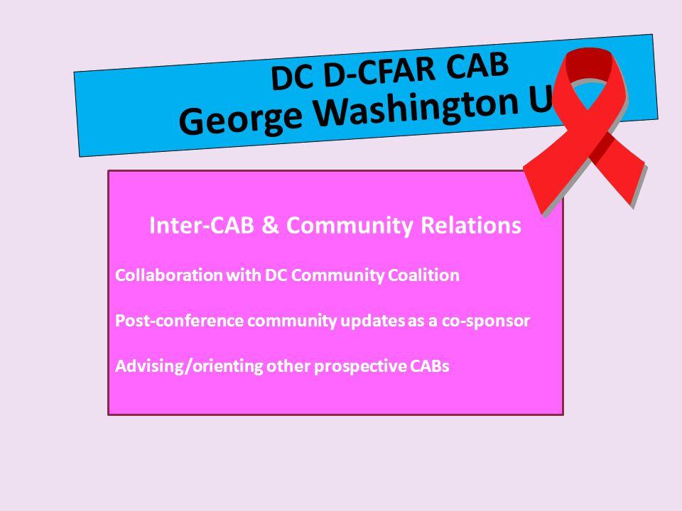 Inter-CAB & Community Relations