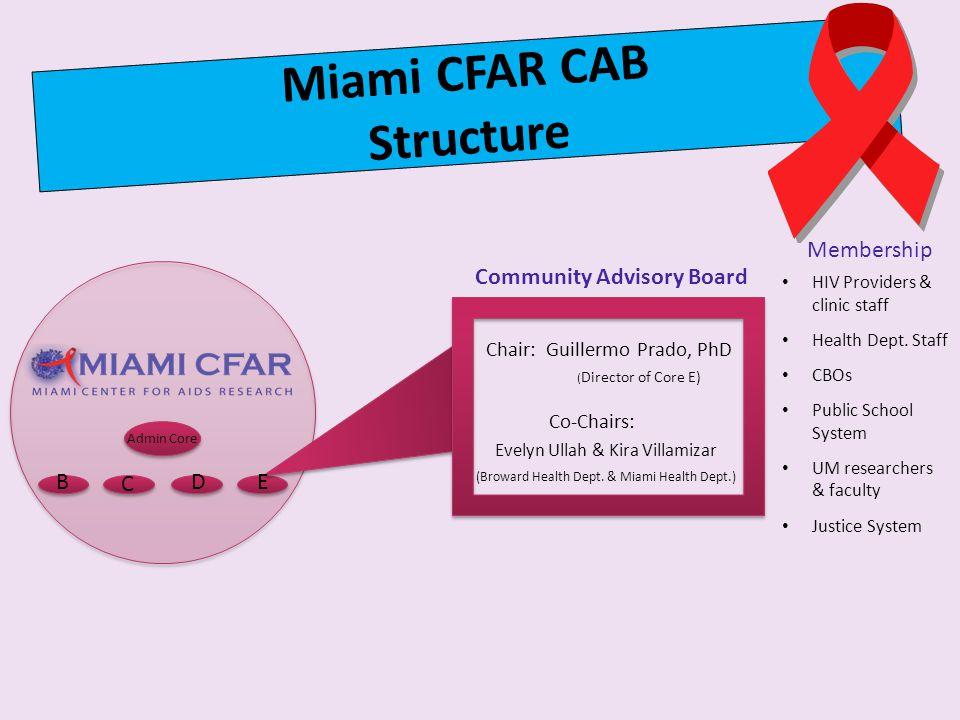 Miami CFAR CAB Structure