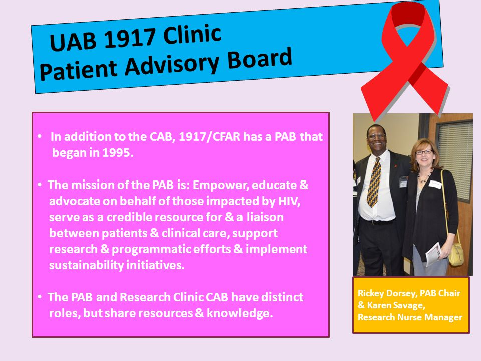 Patient Advisory Board