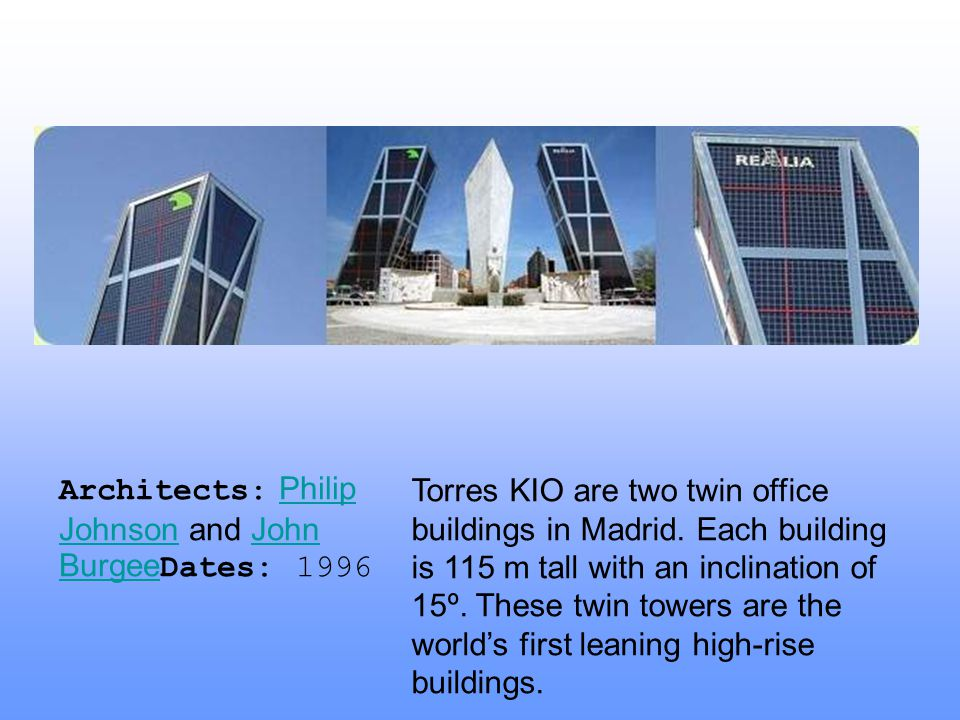 Architects: Philip Johnson and John BurgeeDates: 1996