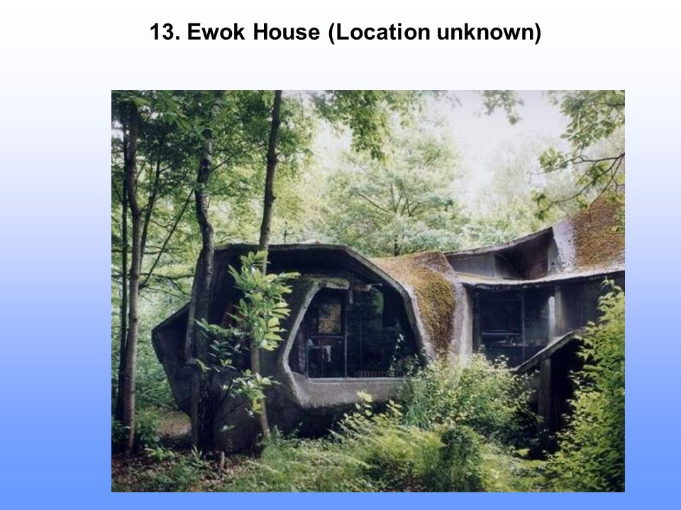 13. Ewok House (Location unknown)