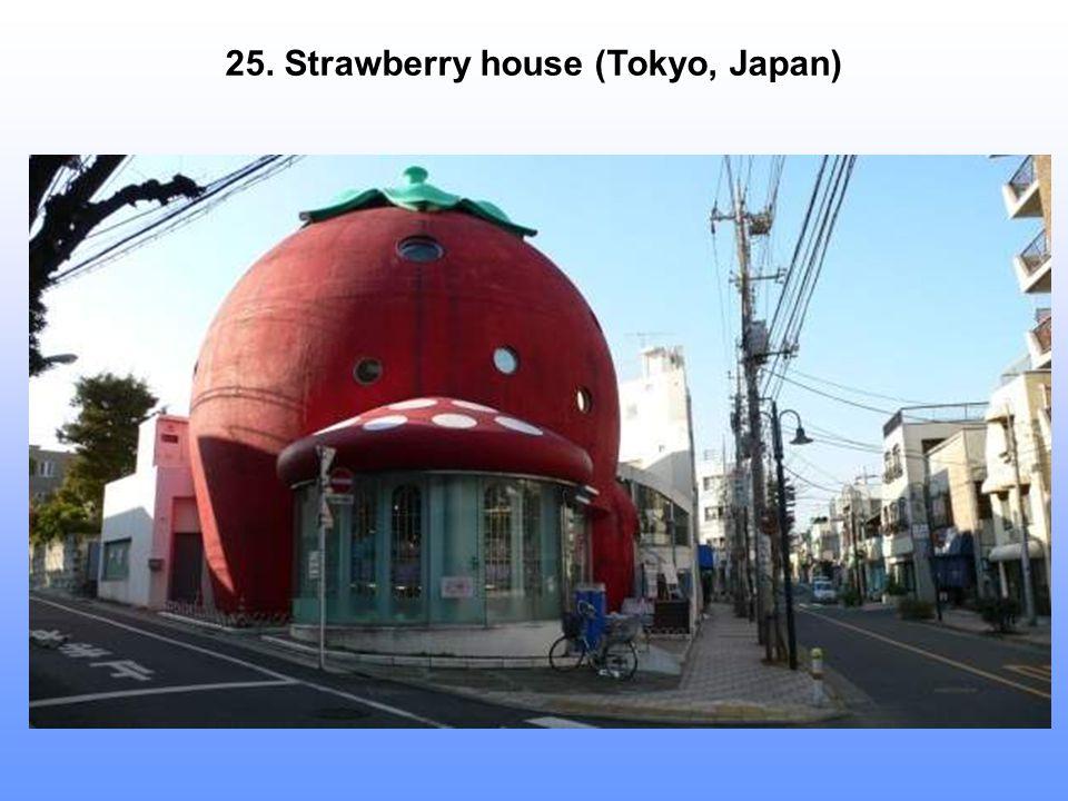 25. Strawberry house (Tokyo, Japan)