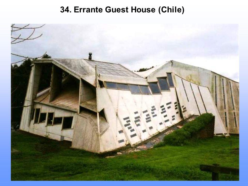 34. Errante Guest House (Chile)