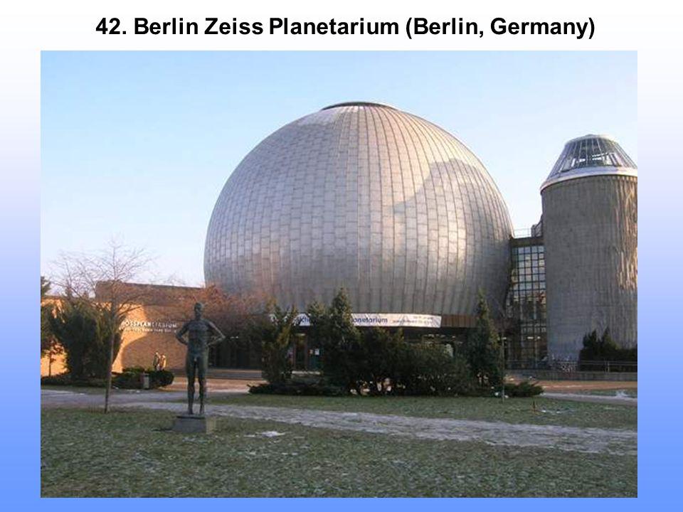 42. Berlin Zeiss Planetarium (Berlin, Germany)