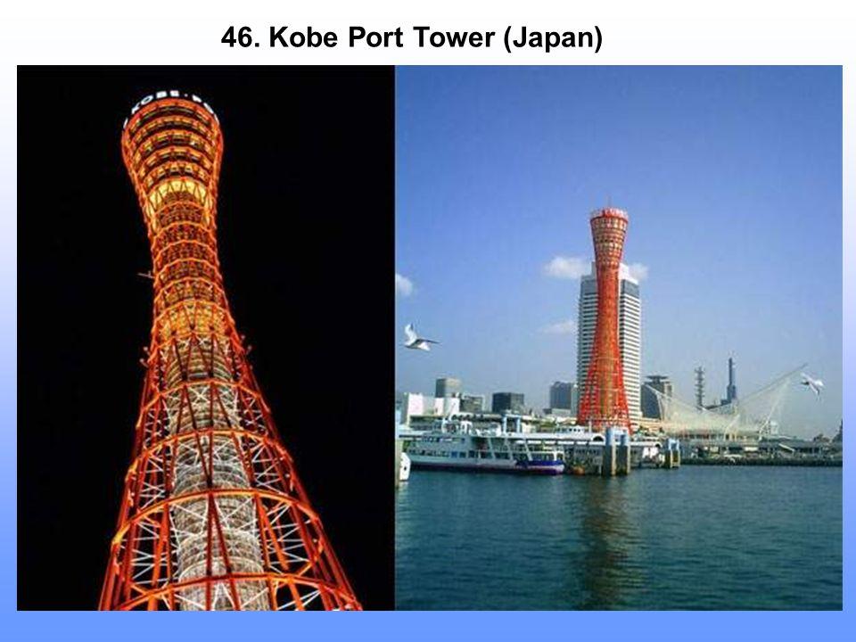 46. Kobe Port Tower (Japan)
