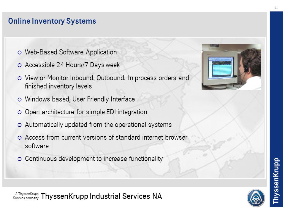 Online Inventory Systems