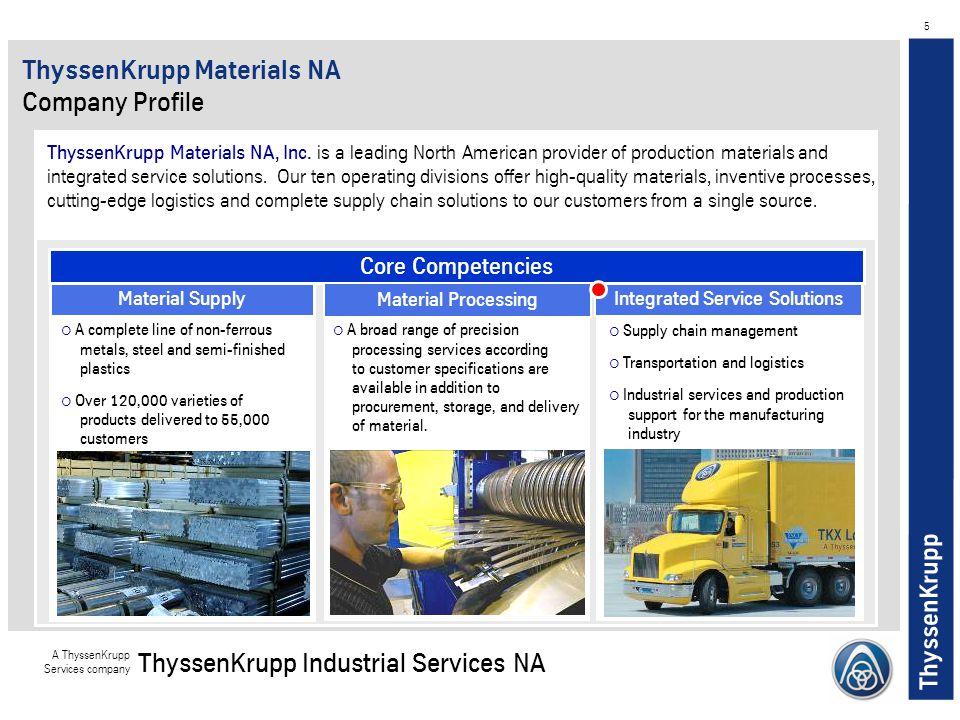 ThyssenKrupp Materials NA Company Profile