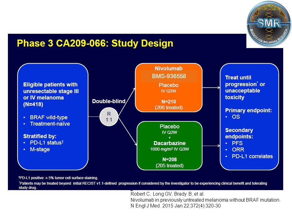 . BMS-936558 Robert C, Long GV, Brady B, et al.