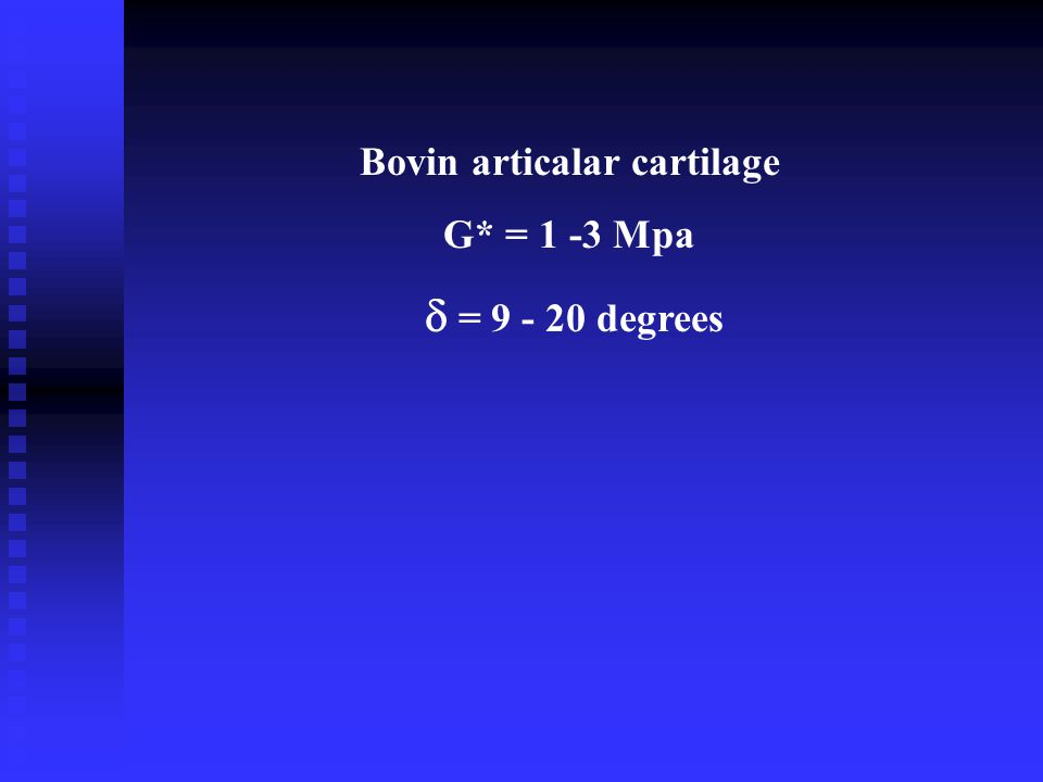 Bovin articalar cartilage