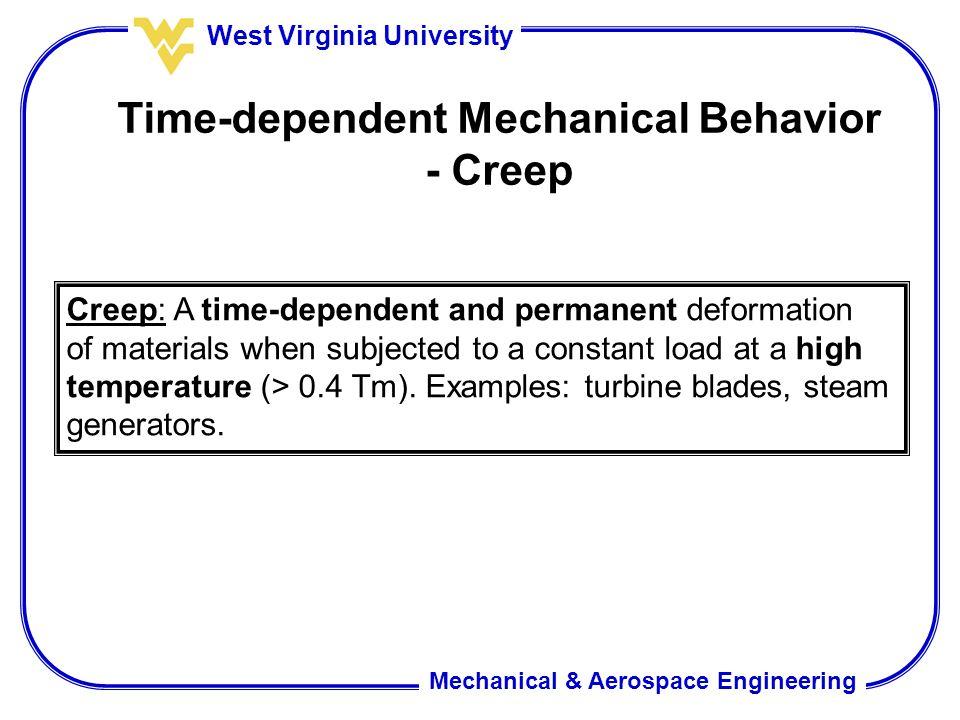 Time-dependent Mechanical Behavior