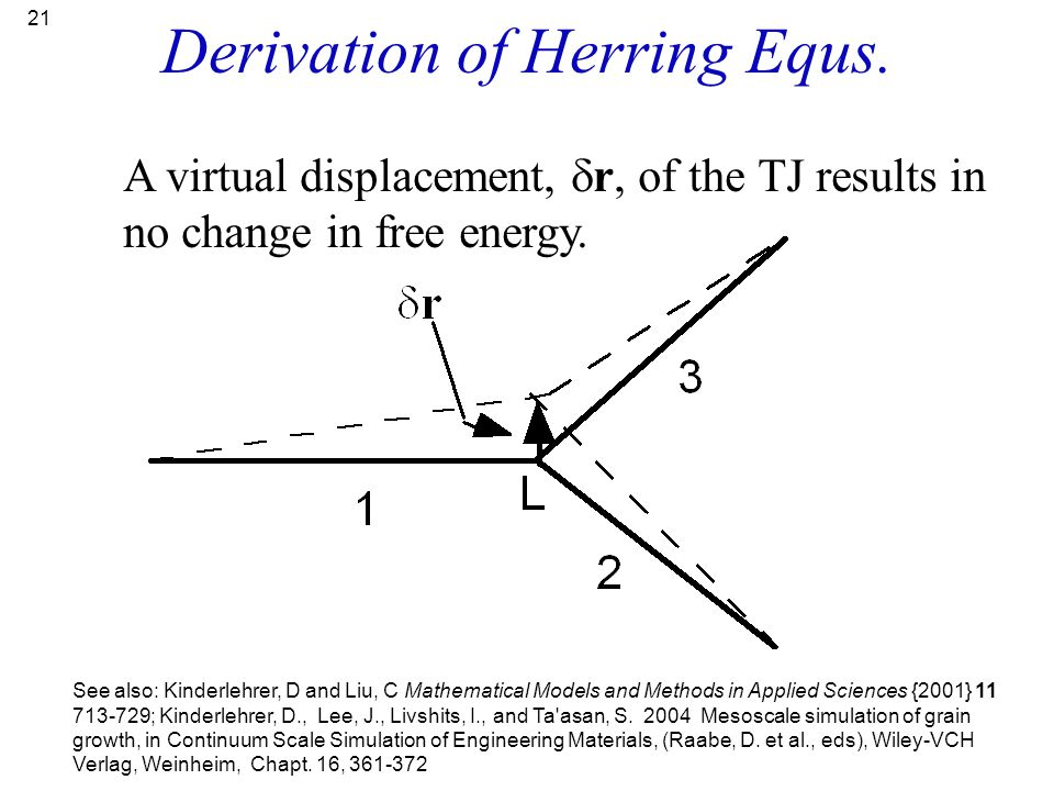 Derivation of Herring Equs.