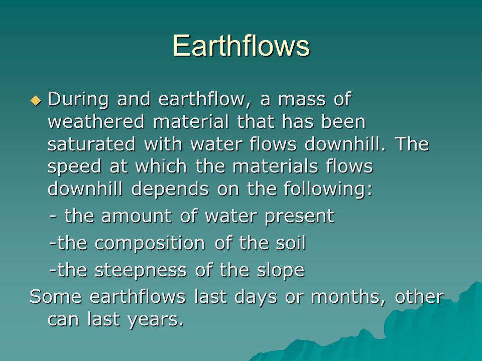 Earthflows