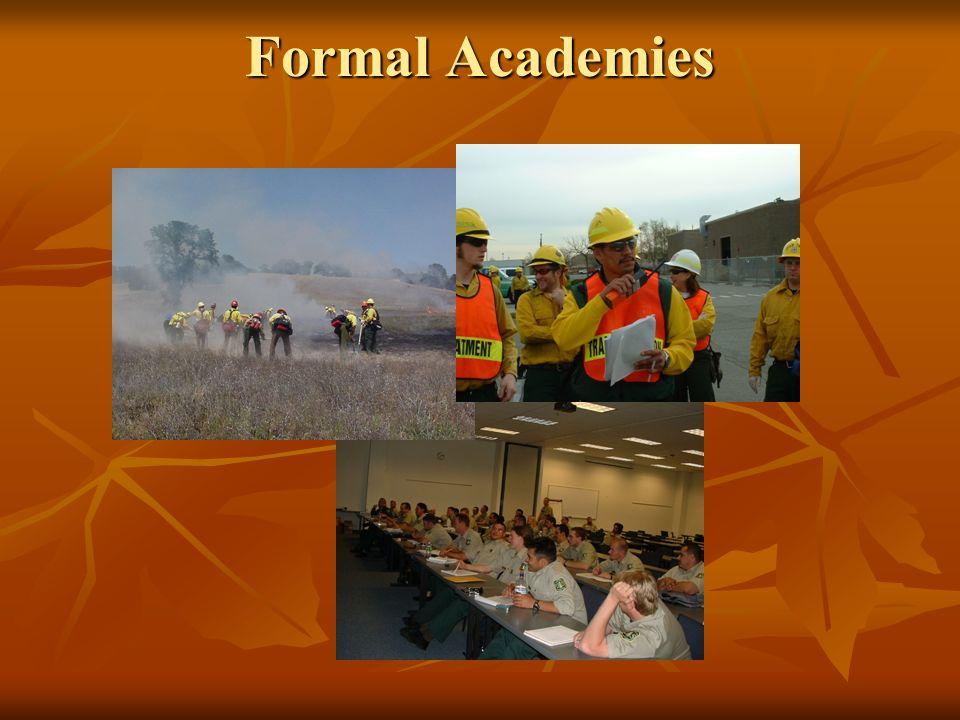 Formal Academies