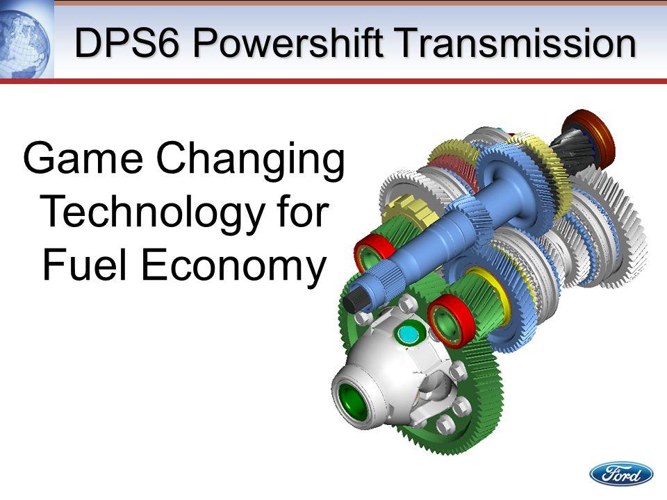 DPS6 Powershift Transmission