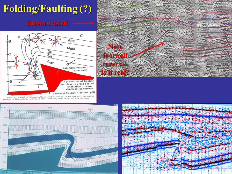 Folding/Faulting ( ) Brown-Bassett