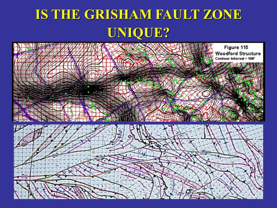 IS THE GRISHAM FAULT ZONE UNIQUE