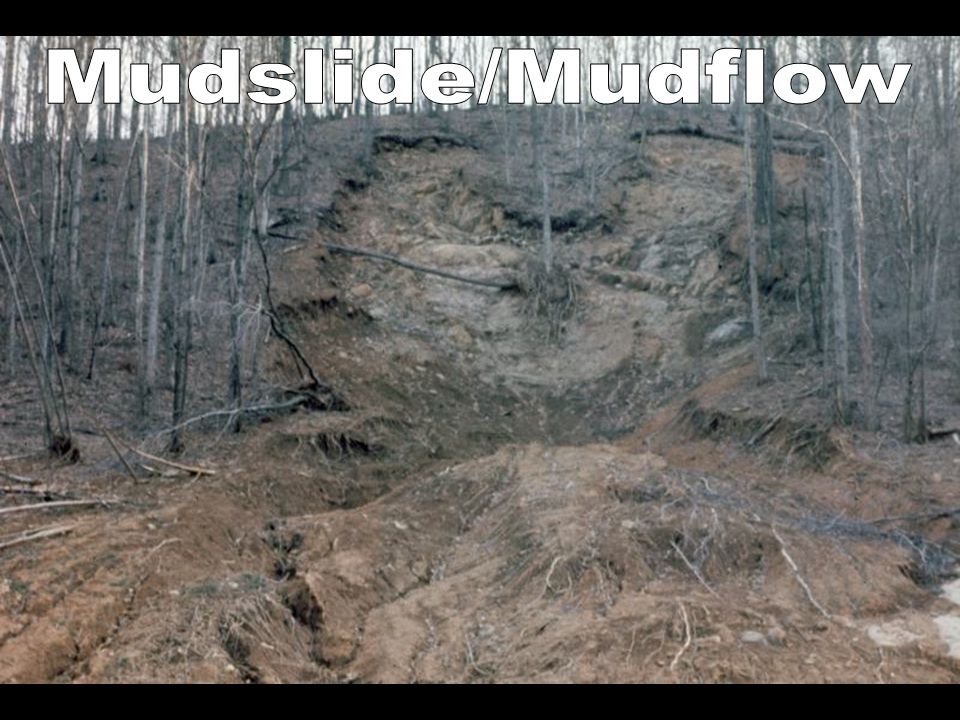 Mudslide/Mudflow