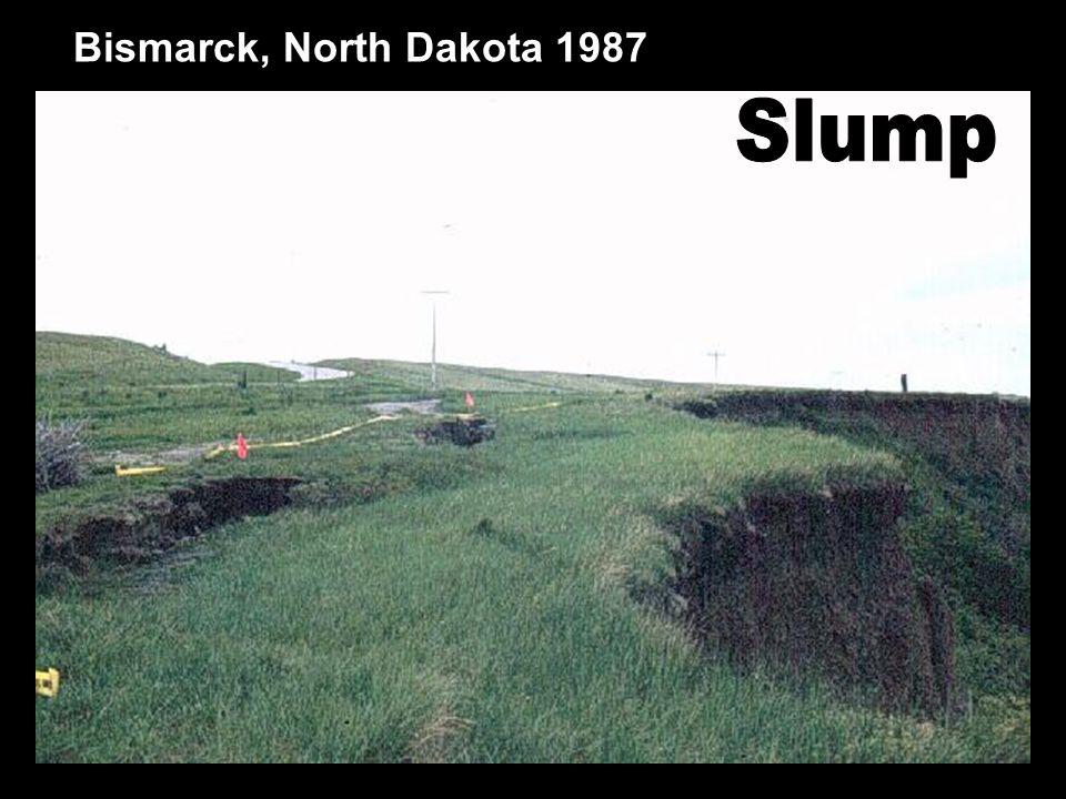 Bismarck, North Dakota 1987 Slump