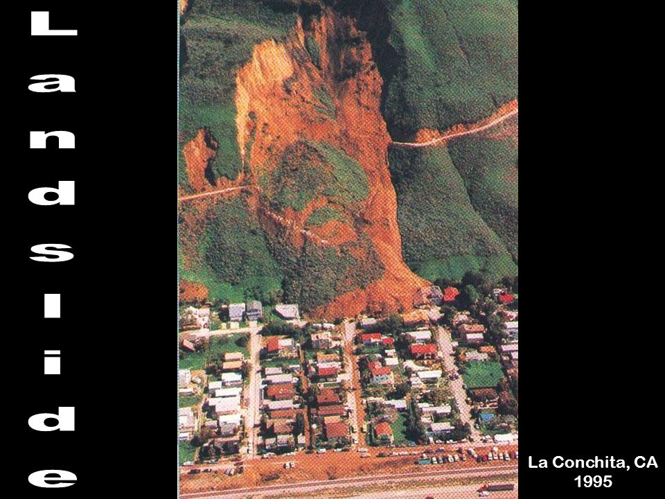 Landslide La Conchita, CA 1995