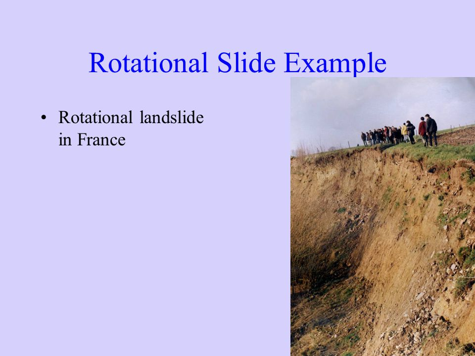 Rotational Slide Example