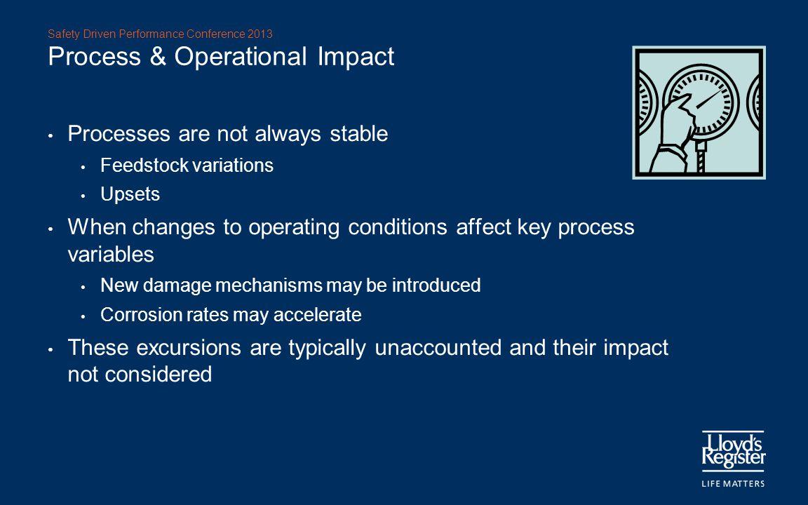 Process & Operational Impact