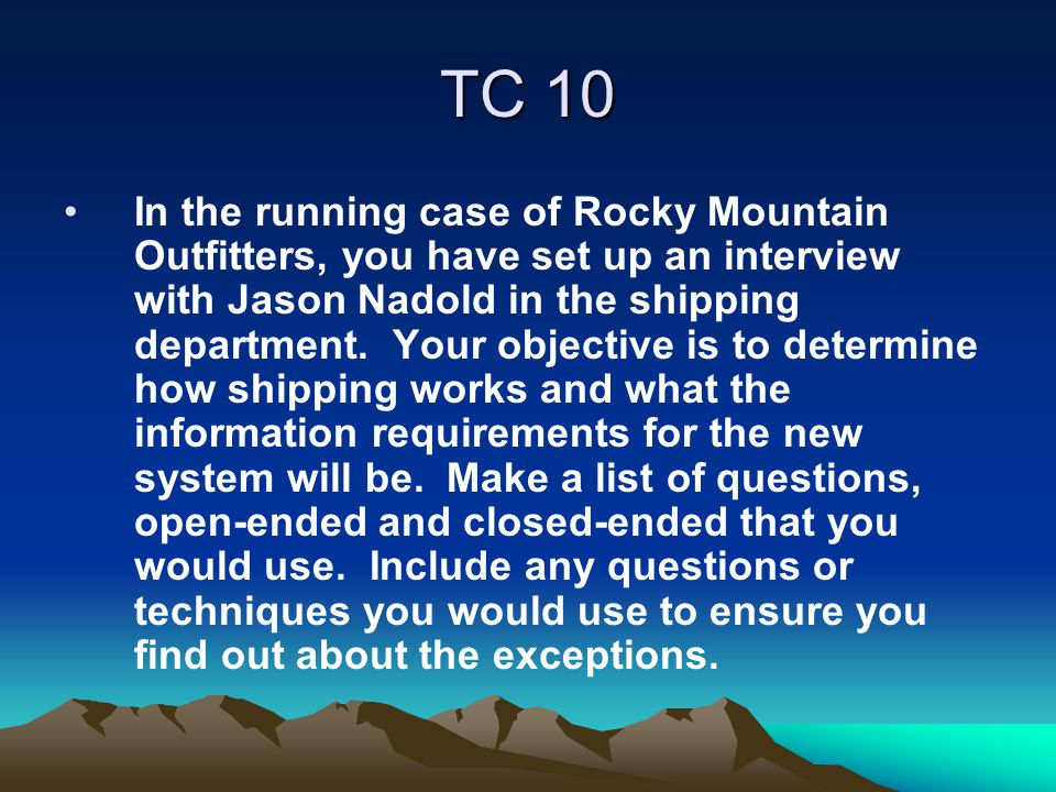 TC 10