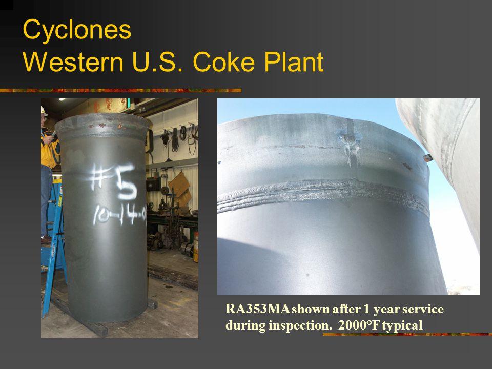 Cyclones Western U.S. Coke Plant