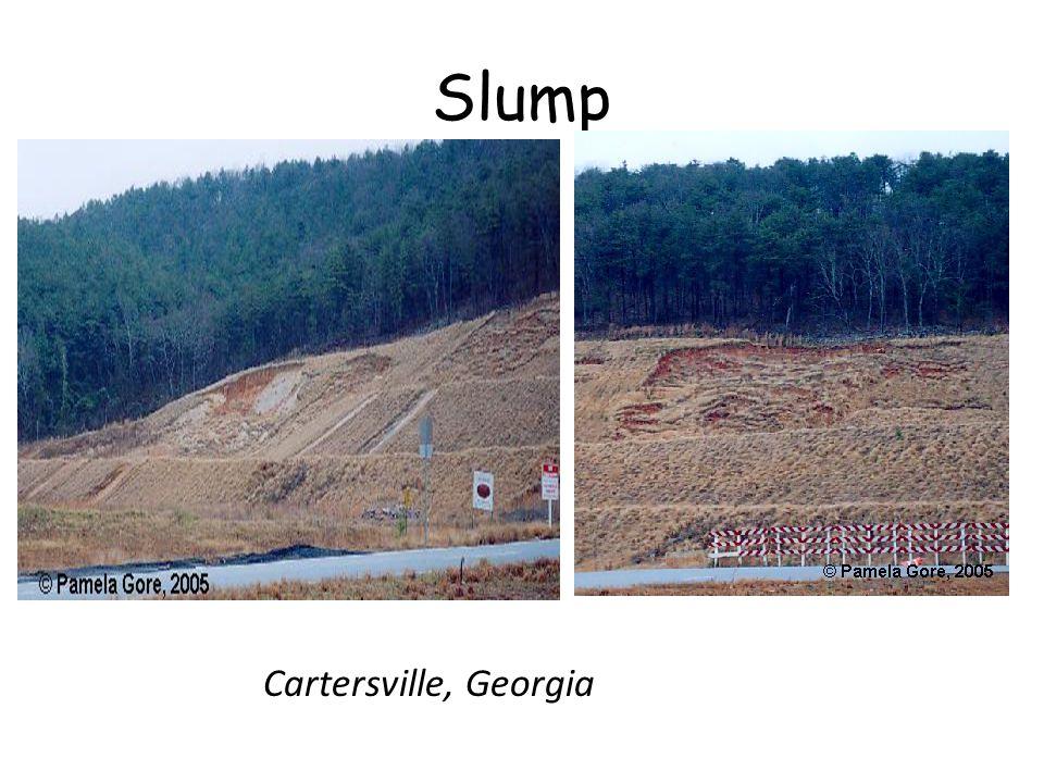 Slump Cartersville, Georgia