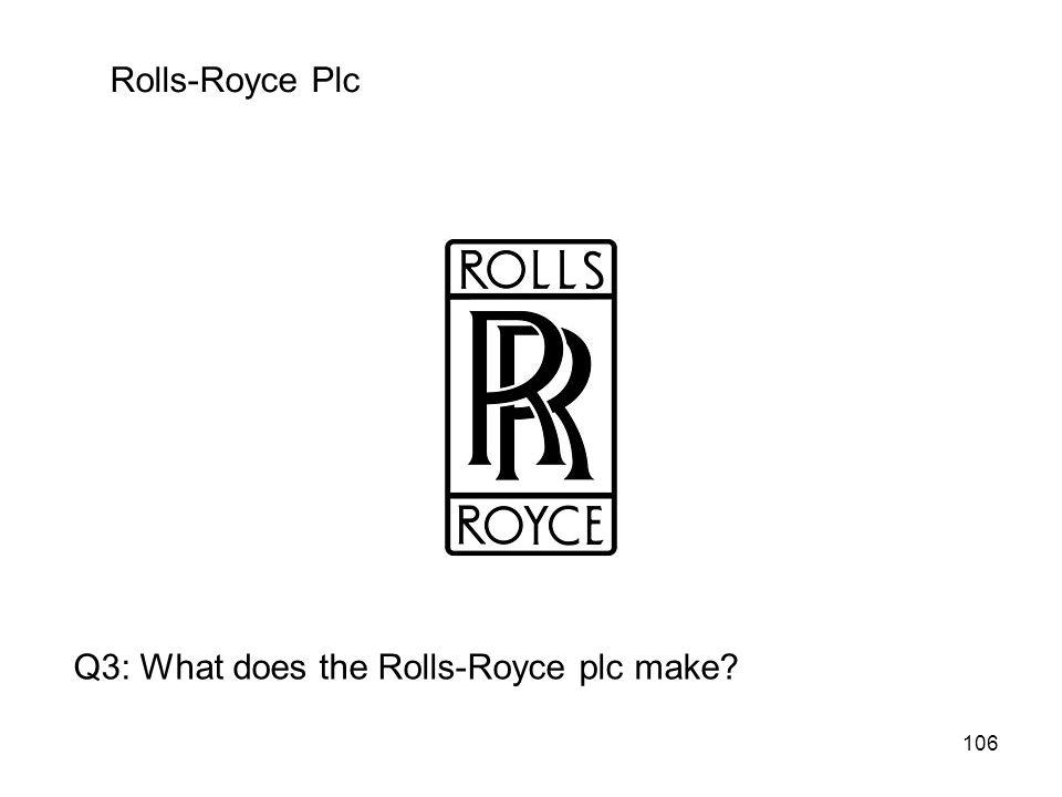 Rolls-Royce Plc Q3: What does the Rolls-Royce plc make