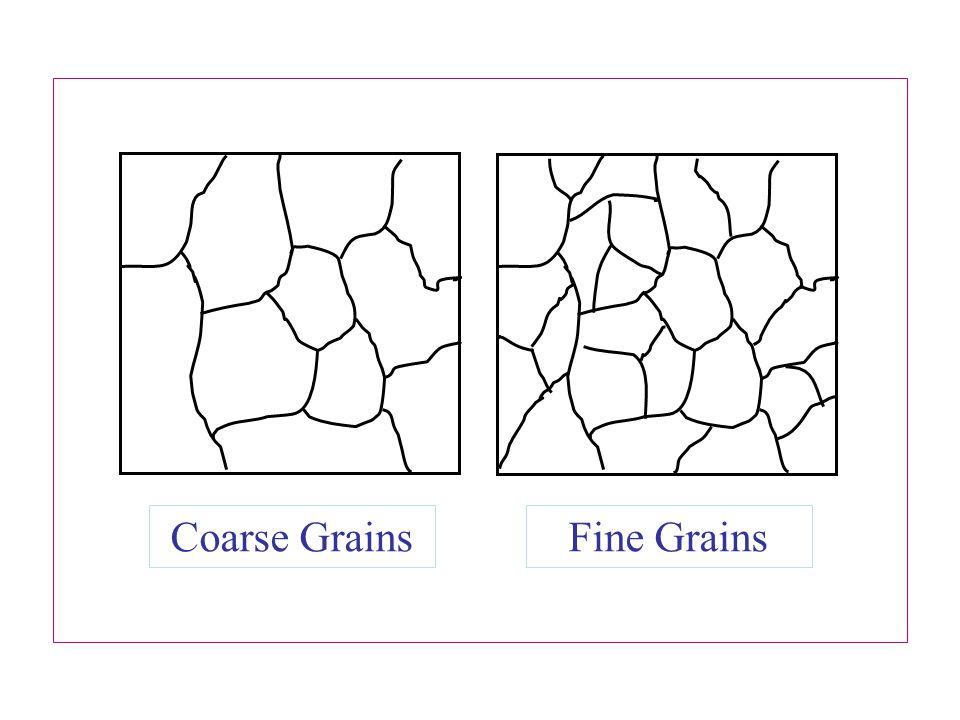 Coarse Grains Fine Grains