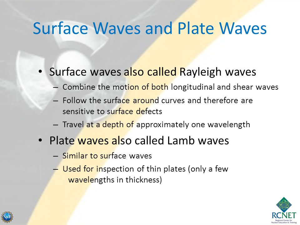 Surface Waves and Plate Waves