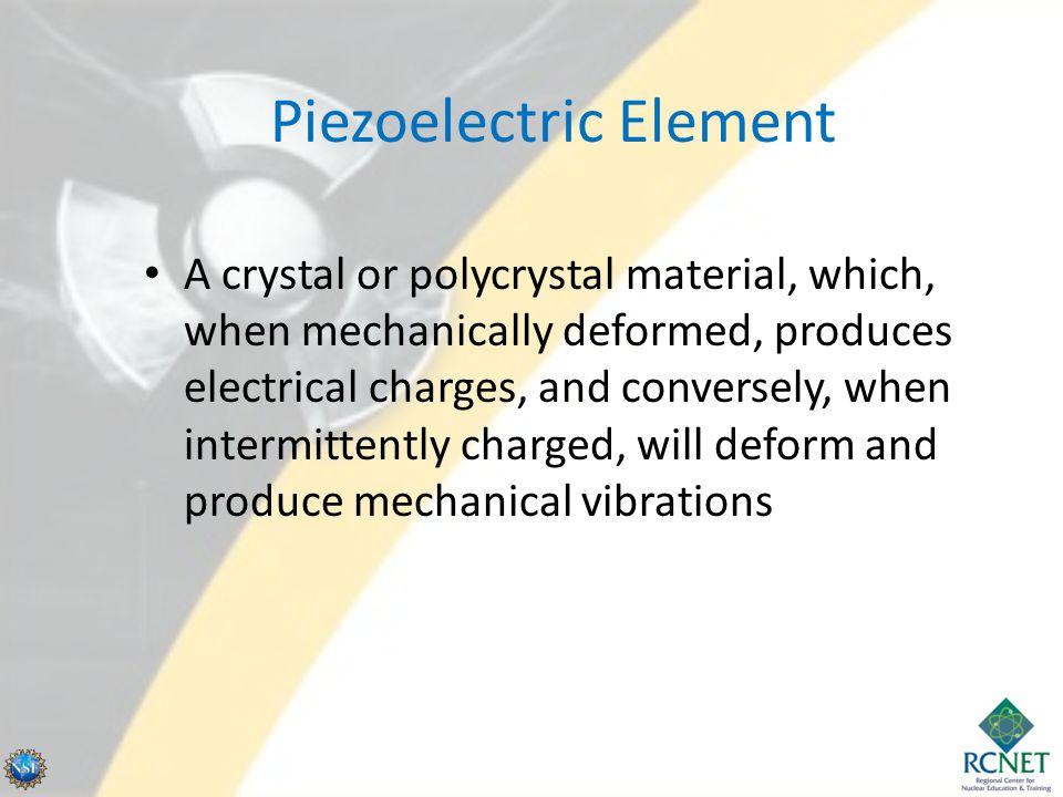 Piezoelectric Element