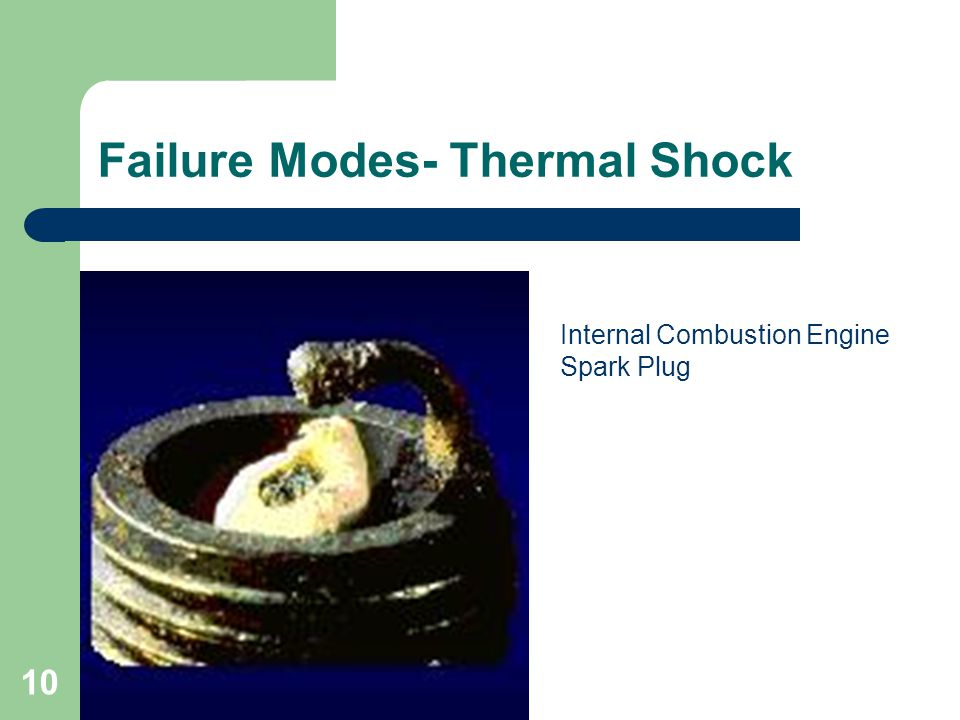 Failure Modes- Thermal Shock