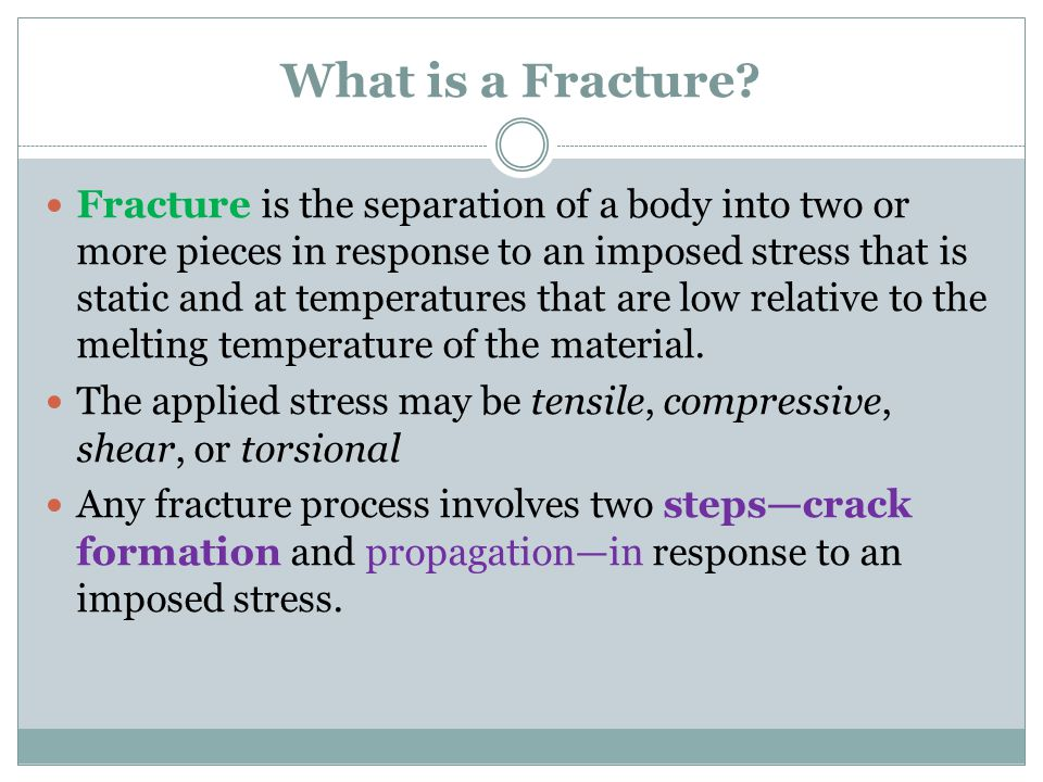 What is a Fracture