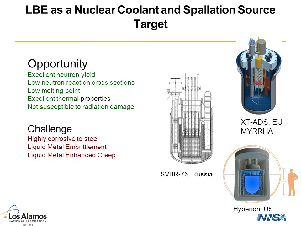 LBE as a Nuclear Coolant and Spallation Source Target