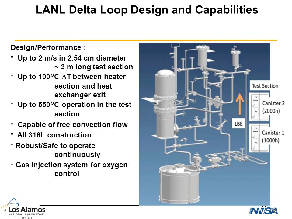 LANL Delta Loop Design and Capabilities
